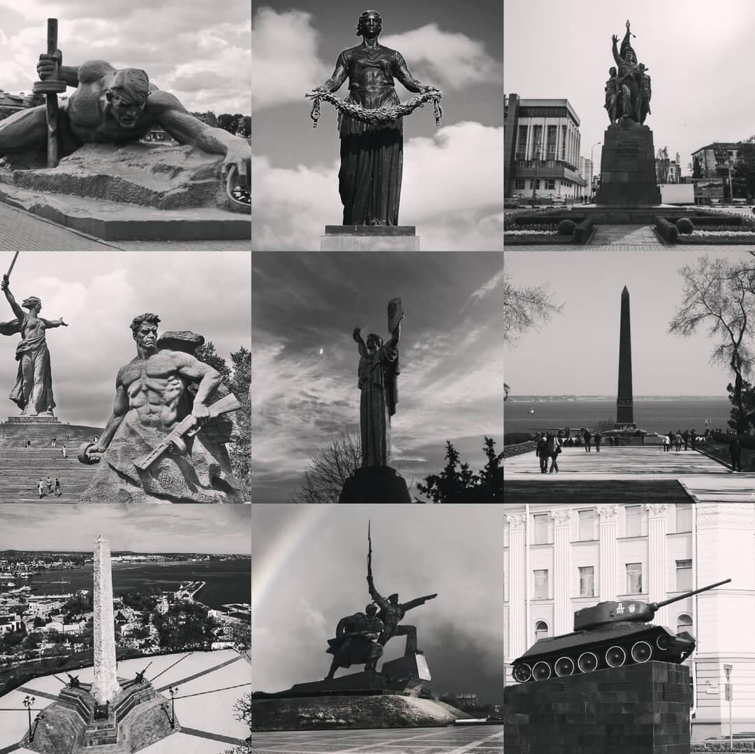 Онлайн путешествие по городам-героям